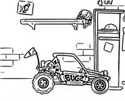 Coloriage Dune Buggy