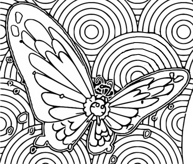 Coloriage Papilusion Gigamax - Pokémon Gigamax