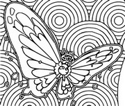 Coloriage Papilusion Gigamax