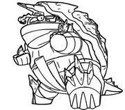 Coloriage Torgamord Gigamax