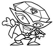 Coloriage Star Team 006 Wondershine