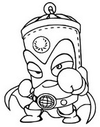 Coloriage Central Patrol 034 The Champ