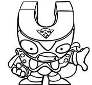 Coloriage Mutant Bandits 042 Darknetic