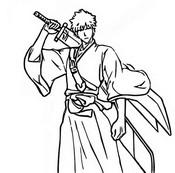 Coloriage Ichigo