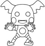 Coloriage Mr.Mime