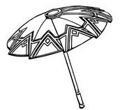 Coloriage Parapluie