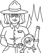 Coloriage Ranger Tabes