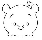 Coloriage Winnie (Winnie l'ourson)