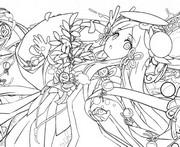 Coloriage Amaterasu