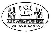 Coloriage Logo Saison 1 Les aventuriers de Koh-Lanta
