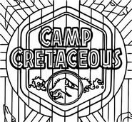 Coloriage Camp Cretaceous