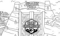 Coloriage Jurassic World - Camp Creataceous