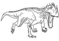 Coloriage Indominus Rex