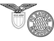 Coloriage 8èmes de finale - Lazio (ITA) - Bayern (GER)