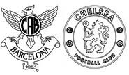 Coloriage 8èmes de finale - Atlético (ESP) - Chelsea (ENG)