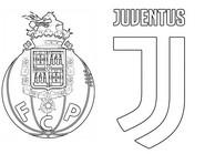 Coloriage 8èmes de finale - Porto (POR) - Juventus (ITA)