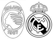 Coloriage 8èmes de finale - Atalanta (ITA) - Real Madrid (ESP)