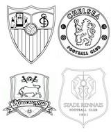 Coloriage Groupe E: Séville FC - Chelsea FC - FK Krasnodar - Stade Rennais FC