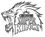 Coloriage Chennai Super Kings