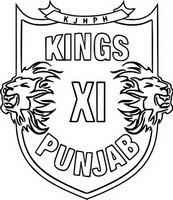 Coloriage Kings XI Punjab
