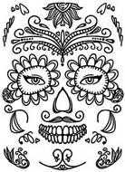 Coloriage Tatouage
