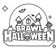 Coloriage Brawl Halloween