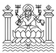 Coloriage Déesse Lakshmi