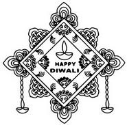 Coloriage Bonne Diwali