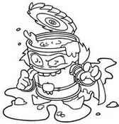 Coloriage Tomaterror 422  Trickster Troop