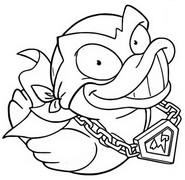 Coloriage Bad Quack 440 Dark Division