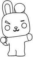 Coloriage Cooky