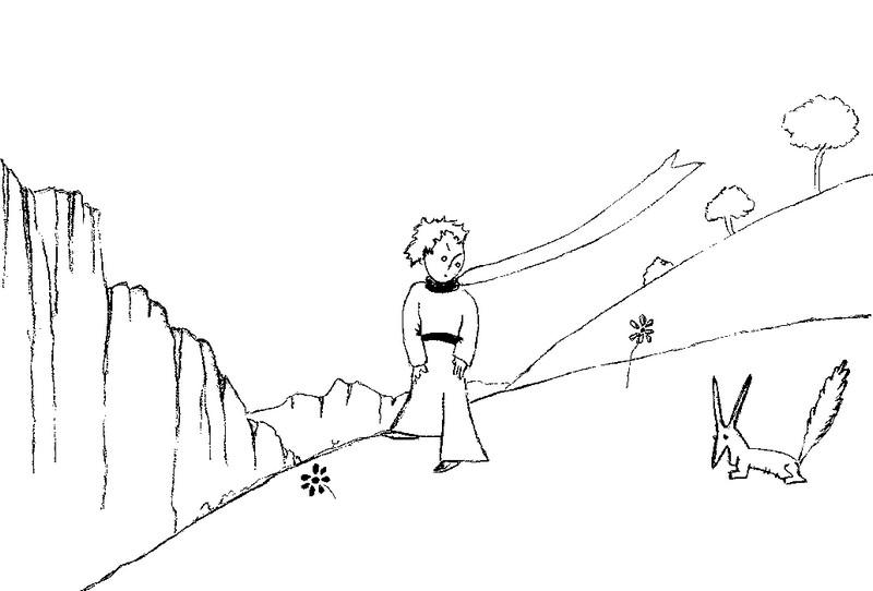 Coloriage Le Petit Prince 5