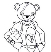 Coloriage Cuddle Team Leader