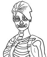 Coloriage Skull Ranger