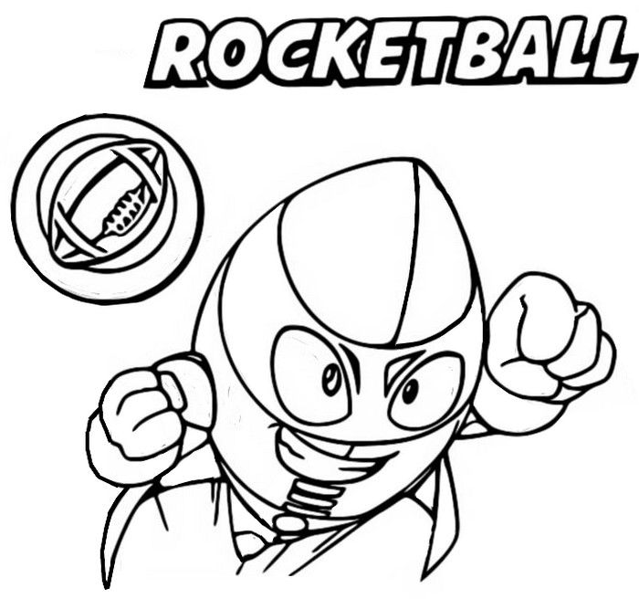 Coloriage Rocketball 096 Bay Force - Superthings Série 2 Superzings