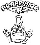 Coloriage Professor K Ultra Rare
