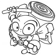 Coloriage Candy Strike 081 Leader Hero