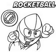 Coloriage Rocketball 096 Bay Force
