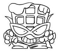 Coloriage Mechanic Warriors 537 Power Gopher