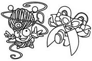 Coloriage Tangle Boy vs Mad Blades