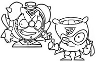 Coloriage Super Soft vs Ding Ring