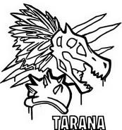 Coloriage Icone Tarana