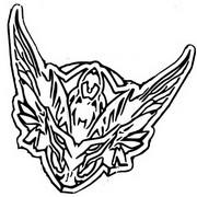 Coloriage Icone Assassin de la flèche