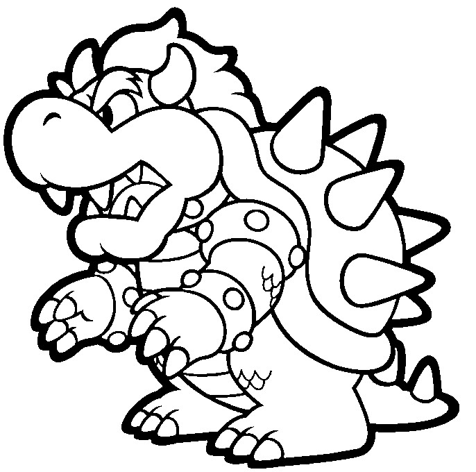 Ludwig From Mario Coloring Pages