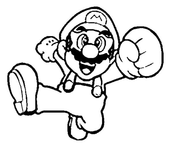 Mario dessin - Toad coloriage ...