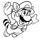 Coloriage Super Mario