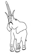 Coloriage El�phant