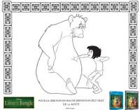 Coloriage Baloo et Mowgli