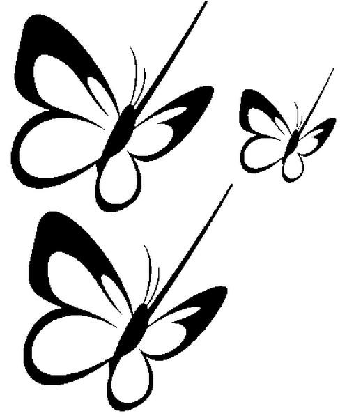 Coloriage Papillons 5