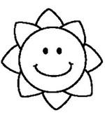 Coloriage Soleil fleur